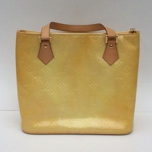 💯LV Authentic Vintage Vernis Houston Bag!